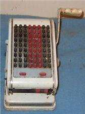 Vintage Paymaster Keyboard Ribbon Checkwriter 8 Column Series 7000
