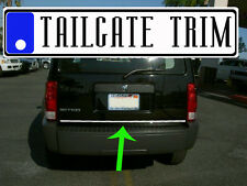 Dodge NITRO 2007 2008 2009 Chrome Tailgate Trunk Trim