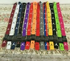Jordan Lanyards Detachable Keychain ID Badge Phone Holder 15 Colors Available
