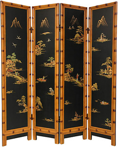 Oriental Furniture 6 ft. Tall Ching Room Divider