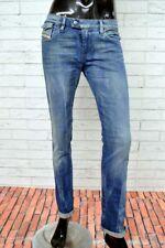 Jeans DIESEL Donna Taglia Size W 29 L 32  Pantalone Woman Denim Regular Fit