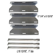 Charmglow Home Depot 3 Burner 720-0230 Grill Replacement Burners & Heat Plates