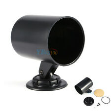 "Black 2"" 52mm Universal Vehicle Car Truck Single Gauge Holder Pod Cup Mount Hot"