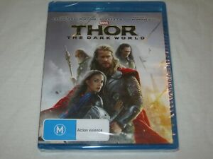 THOR - The Dark World - Brand New & Sealed - Region A, B, C - Blu Ray