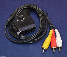 RCA Male SCART TV Video Cables & Connectors