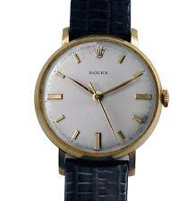 Vintage 1940's 9k Gold Rolex Men's Dress Watch with Original Dial