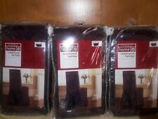 3 Target Classic Home Traditional Holiday Burgundy Dining Chair Covers