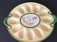 Pfaltzgraff Chicken Deviled Egg Plate Platter The Circle of Kindness