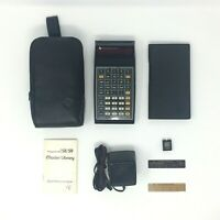 Vintage Texas Instruments TI 58C Programmable Calculator - Excellent Bundle
