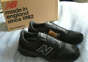New Balance M7709BK black trainers 770.9 sneakers UK 12.5 MADE IN ENGLAND