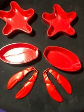 Nantucket Seafood Crab Lobster Claw Crackers And Dishes 4149
