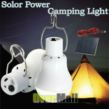 Portable Solar Powered 12 LED Micro Rechargeable Outdoor Tent Camping Bulb Light