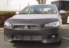 Colgan Front End Mask Bra 2pc. Fits Mitsubishi Lancer GTS 2008-2013 W/O Li.Plate
