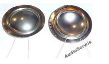 2x Diaphragm Voice coilGDWK 26mm 8ohm Titan