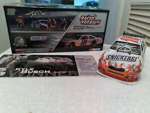🏁2008 Kyle Busch #18 Snickers Autographed/signed 1:24 Atlanta Race Win🏎