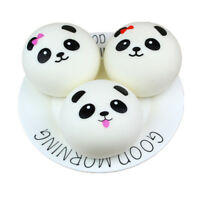 Panda Cute Bread Squishy Slow Rising Cream Scented Decompression Toys Hot