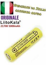 Batteria 21700 ORIGINALE LIITOKALA 40T 5000mAh Lii-50E ALTA QUALITÀ