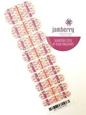 *Reduced* Half Sheet of Jamberry Nail Wraps - Sundrenched. Desert Dream Pink Red