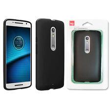 Case for Motorola Droid Maxx 2 Slim Silicone Shockproof Cover Verizon OEM Black