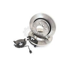 Beläge AJPRG 257mm vorne für FIAT PUNTO Van 1.1 1.7 BREMBO Bremsscheiben Set