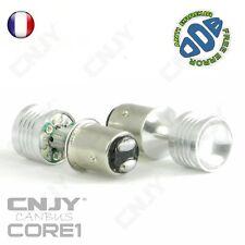2 AMPOULE LED ROUGE CNJY CORE1 BAY15D P21/5W SANS ERREUR ODB 12V STOP/VEILLEUSE