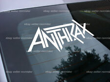 anthrax rock band decal sticker