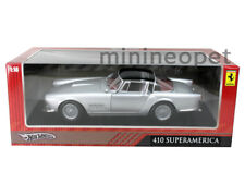 HOT WHEELS T6243 FERRARI 410 SUPERAMERICA 1/18 SILVER