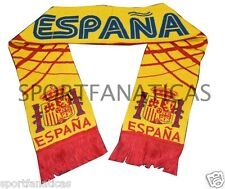SPAIN SCARF SOCCER WORLD CUP ANDRES INIESTA  JERSEY FLAG SPAIN