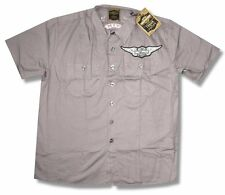 "HARLEY DAVIDSON & TRUNK LTD DESIGNER ""KNUCKLEHEAD"" WORK SHIRT - NWT SMALL S"