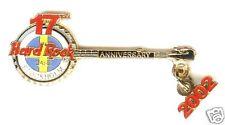 Hard Rock Cafe STOCKHOLM 17TH Anniversary, '02 Pin RARE