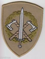 LATVIA.LATVIAN ARMY 2nd INFANTRY BATTALION SUBDUED PATCH. FREE SHIPPING