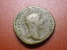 """Roman MARCUS AURELIUS Dupondius 161 VERUS, Handshake, Scroll. """"""""SCARCE"""""""" (161)"""