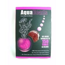 Water Aqua Beads Soil Crystals Bio Gel Ball Vase Flower Plants Expanding Pink