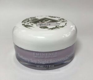 Eminence Blueberry Soy Night Recovery Cream 2oz, NEW Fresh * Unboxed, Retail $64