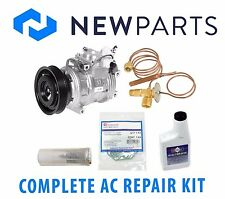 Fits Honda Accord EX LX V6 3L Complete A/C Repair Kit New Compressor & Clutch