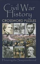 Civil War History Crossword Puzzles: By Grab A Pencil Press, Grab A.