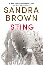Sting by Sandra Brown (2016, Hardcover Book) Mystery Thriller Romance NEW