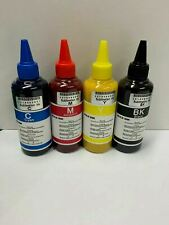 More details for dye sublimation ink cmyk - epson printhead 400ml (100ml*4)