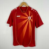 Macedonia Football Jersey Mens Small Jako Short Sleeve