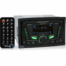 Power Acoustik PL-52B Double-DIN Bluetooth Digital Media Car Stereo Receiver
