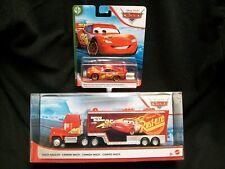 Disney Pixar Cars Mack Lightning McQueen Hauler & Car.