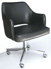 Vintage Mid Century Chrome Office Chair