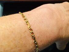 AUTHENTIC Vintage Cartier 18k Gold Link Bracelet