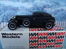 1/43 Western models  (England)  Bentley 1930  Barnato 6 1/2 litre  white metal