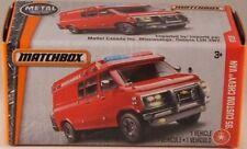 MATCHBOX POWER GRABS #87 '95 Custom Chevy Van, 2017 issue (NEW in BOX)