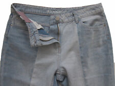 New Womens Blue Relaxed NEXT Crop Jeans Size 12 Regular Leg 25 RRP £32 DEFECTS