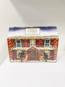 Yankee Candle Countdown Advent Calender 2015 Snowy Christmas House Tea Light