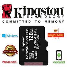 Kingston Micro Sd 32GB 64GB 128GB Tarjeta de memoria y adaptador de lona Select Plus Uk