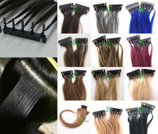 7A 10-26inch Remy New 6D Human Hair Extensions 20gram 40 Strands Long Hair