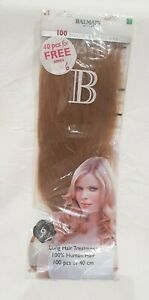 DESTOCKAGE ! 100 Extensions fill-in BALMAIN 40cm Human hair Blond L8